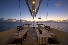 Yacht PTARMIGAN -    Cockpit Dining